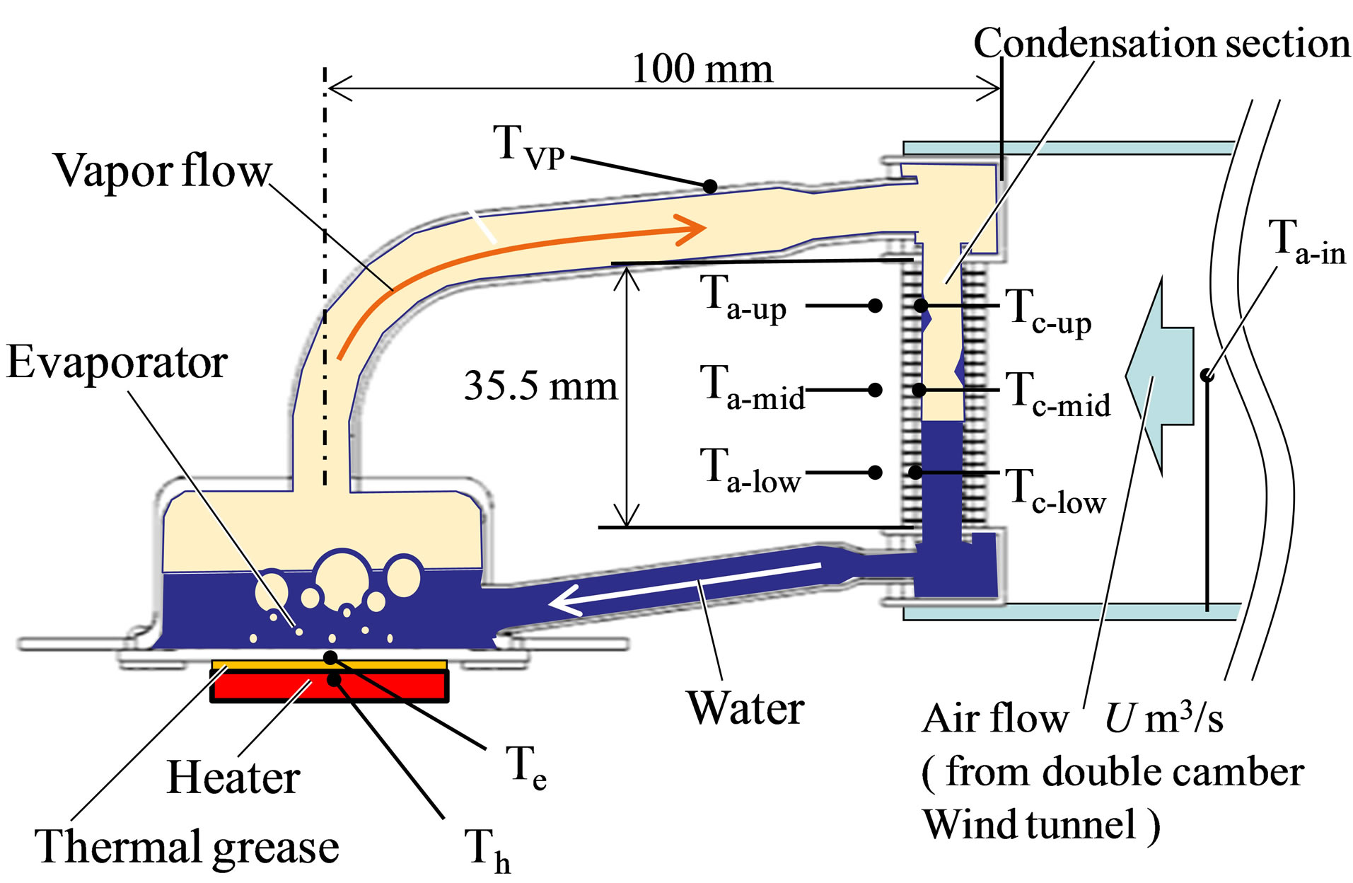 Effect of Non Condensable Gas Leakage on Long Term Cooling