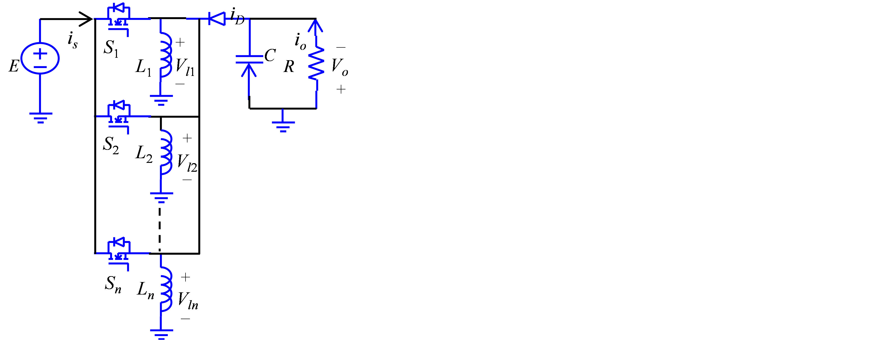 Paralleled Dc Power Converters Sliding Mode Control With Dual Fig 2 Boost Converter Circuit 3 Buck Figure 1