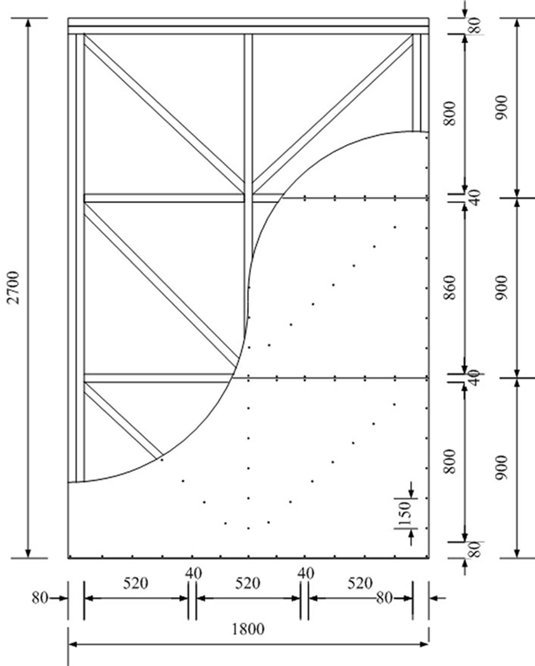 Prediction of nonlinear cyclic behaviors of shear wall for Structural fiberboard sheathing