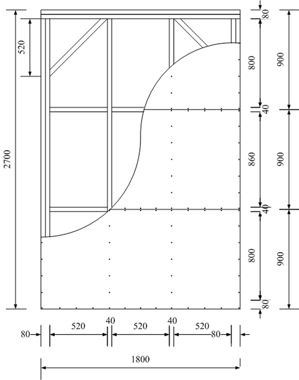 Prediction of nonlinear cyclic behaviors of shear wall Structural fiberboard sheathing