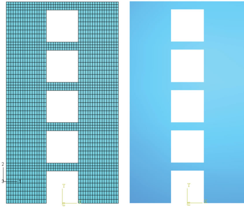 Improvement of Concrete Shear Wall Structures by Smart