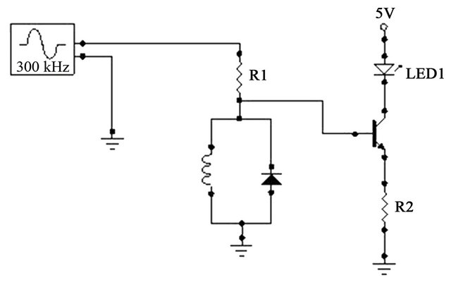 a nonlinear electrical resonator as a simple touch