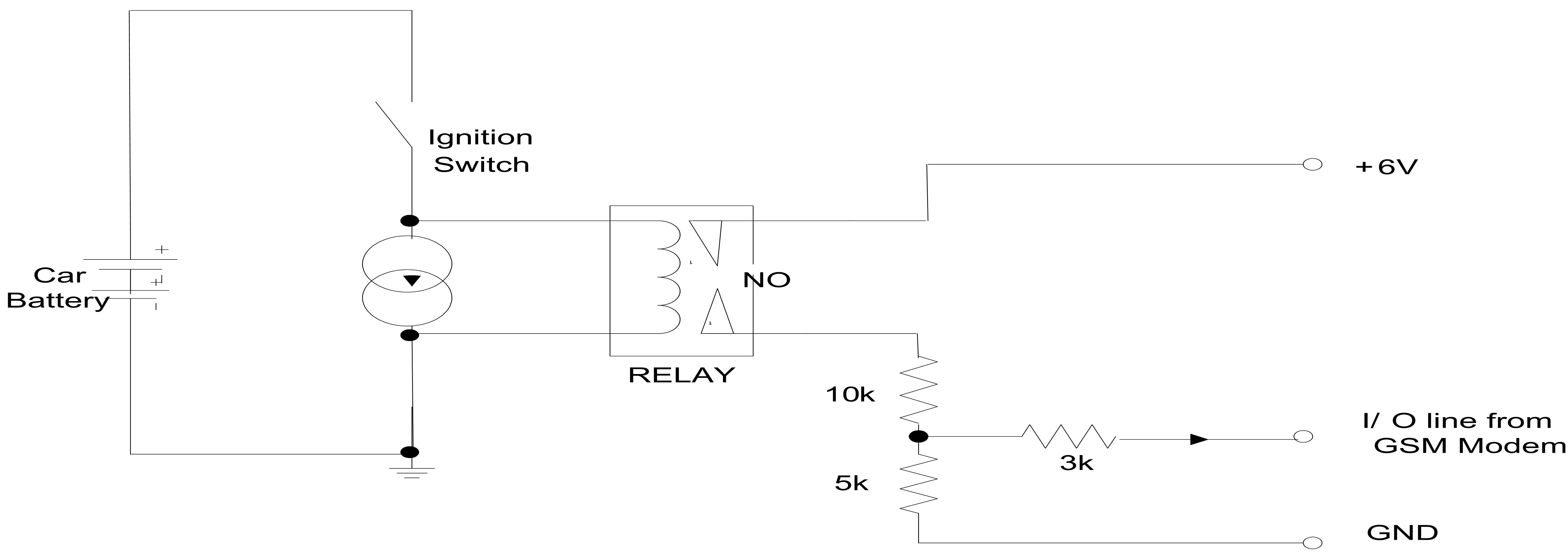 Break The Ignition Circuit Automatically Immobilizing The Vehicle