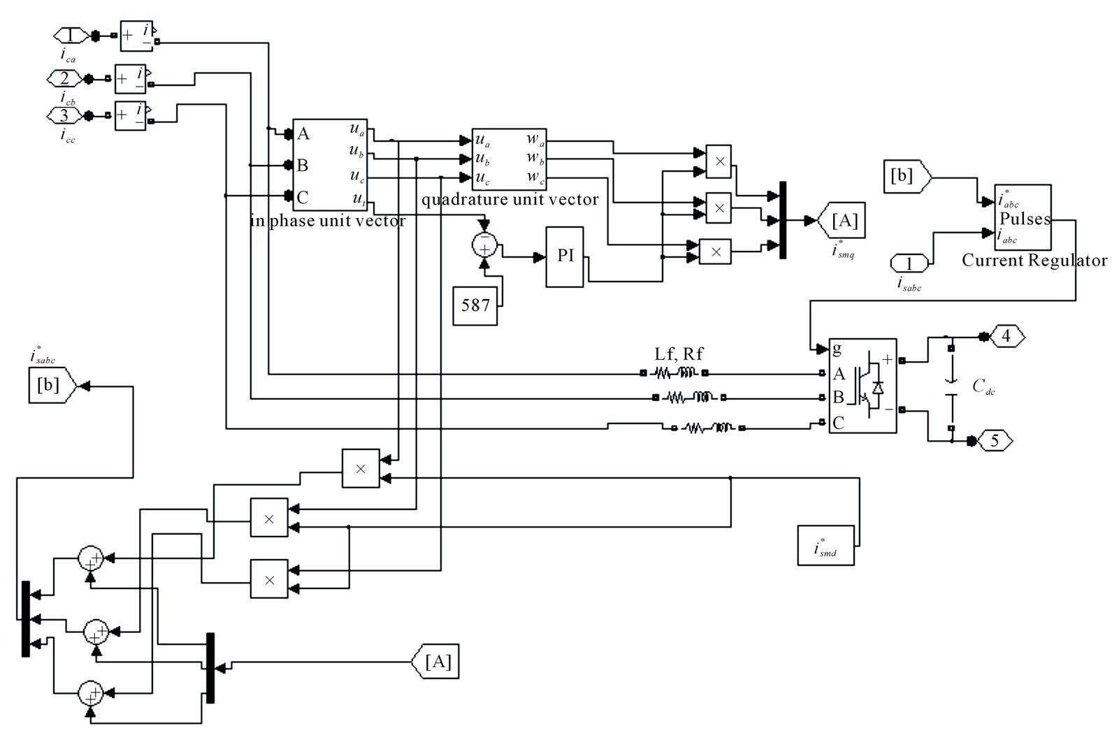 Electronic Load Controller For A Parallel Operated Isolated 587 Block Signal Wiring Diagram