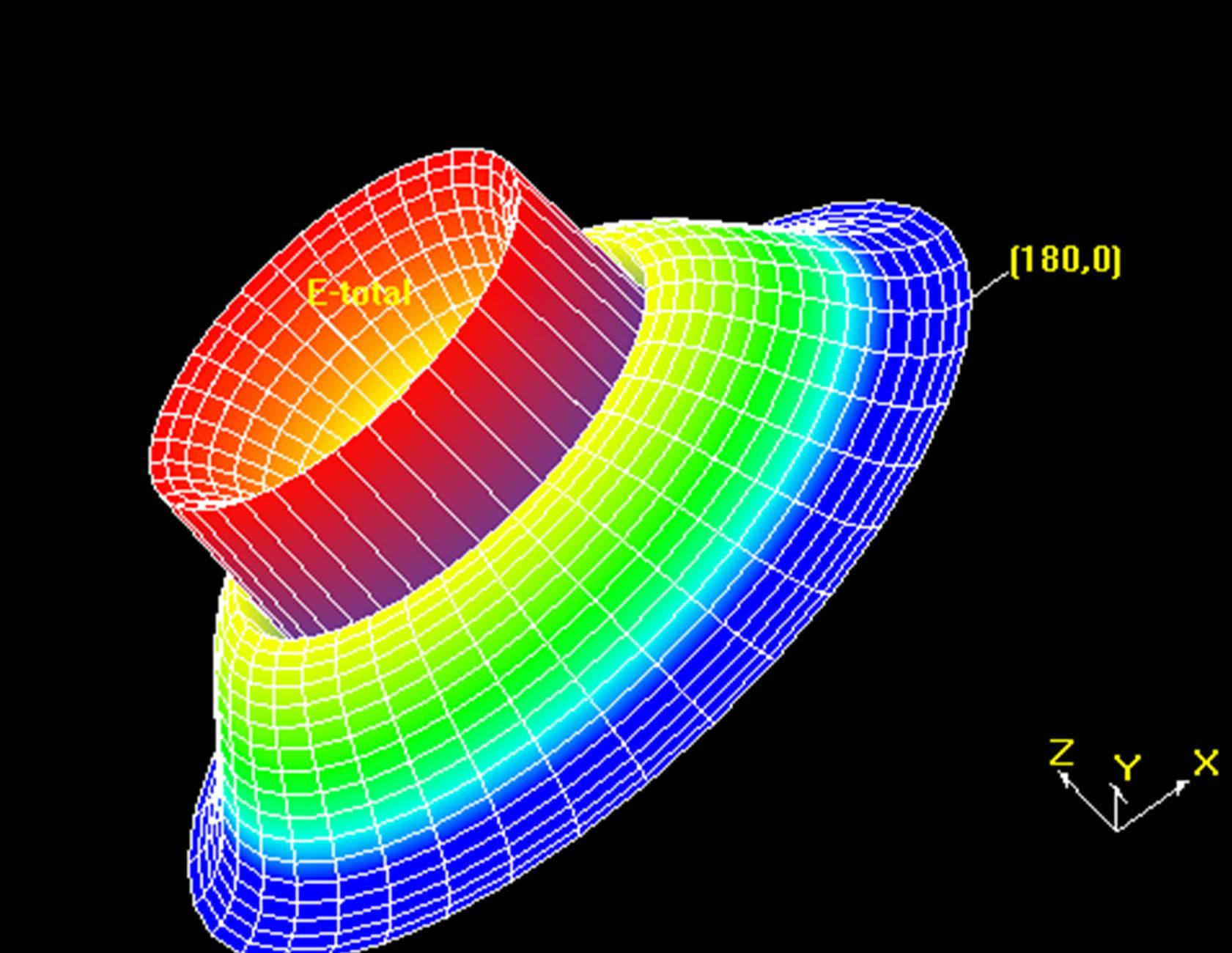 a simple design of microstrip patch