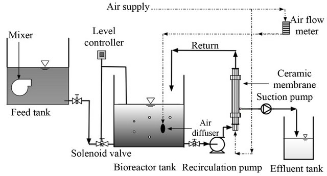 Removal of Di2Ethyl Hexyl Phthalates by Membrane Bioreactor