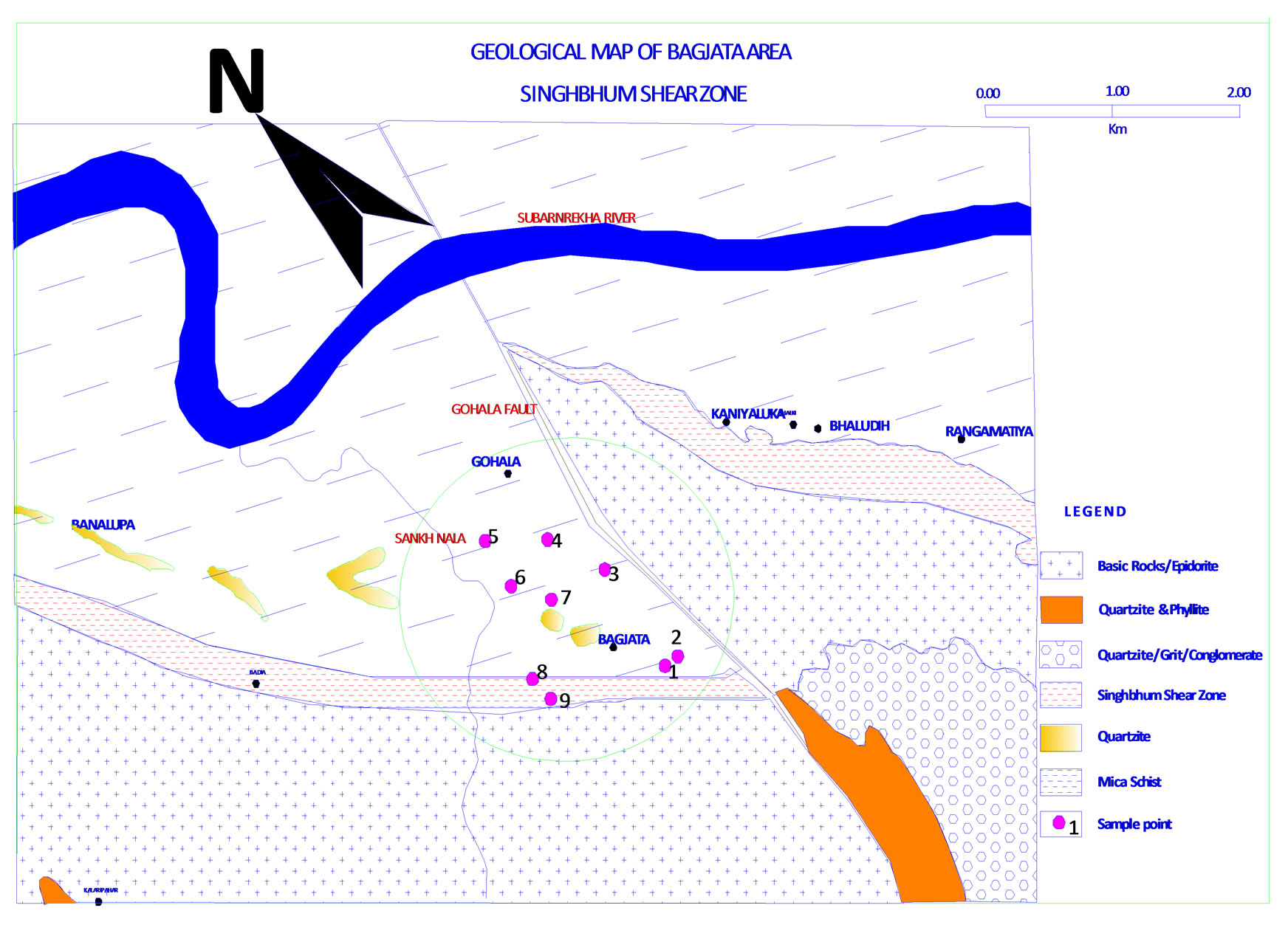 GeoHydrodynamics of Bagjata Area and its Significance with
