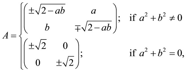 matrix element hamilton