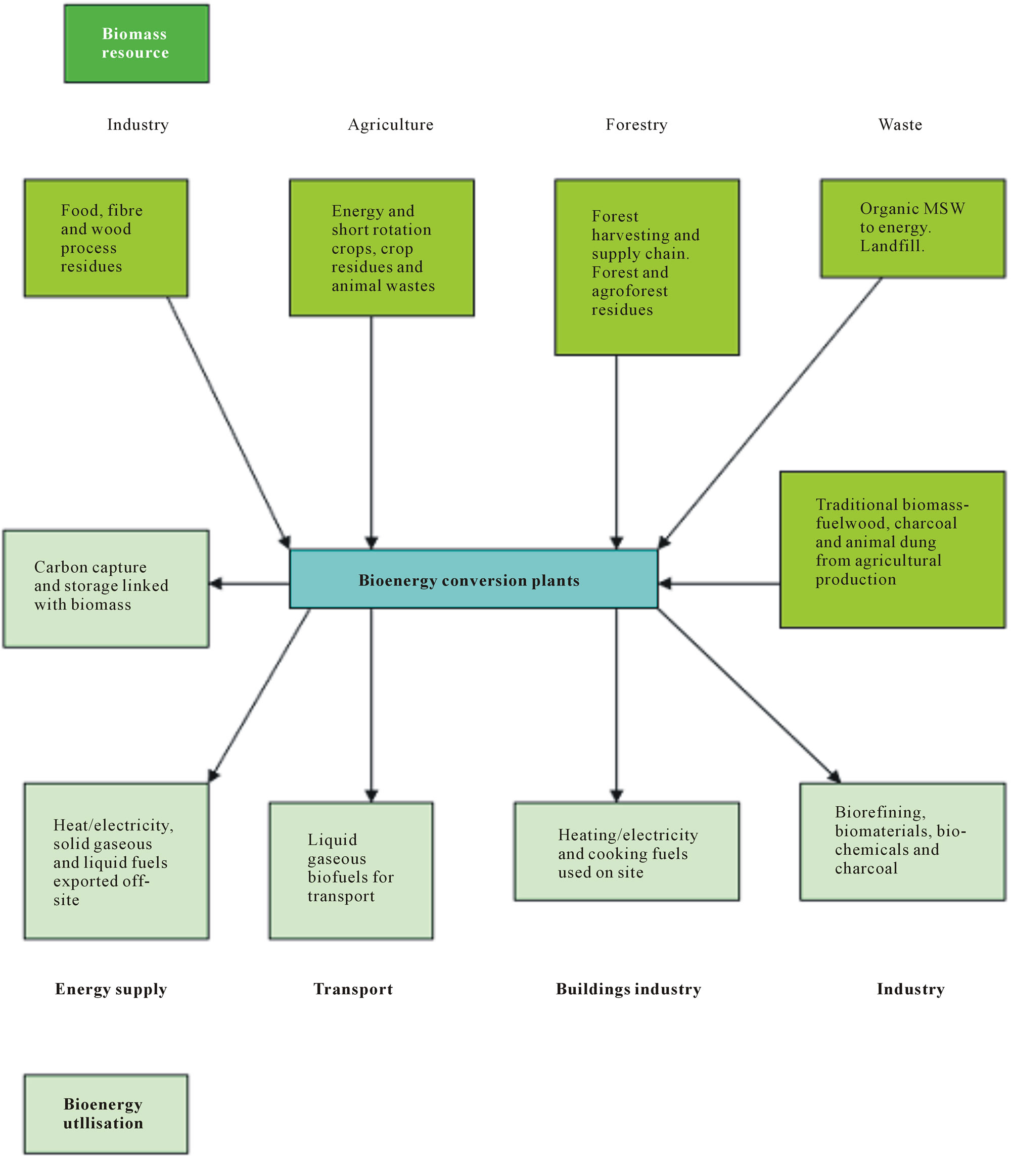 Biomass Energy Resources Utilisation And Waste Management