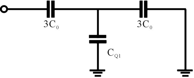 nanocapacitor with a cantor multi