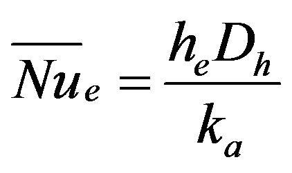 nusselt number formula