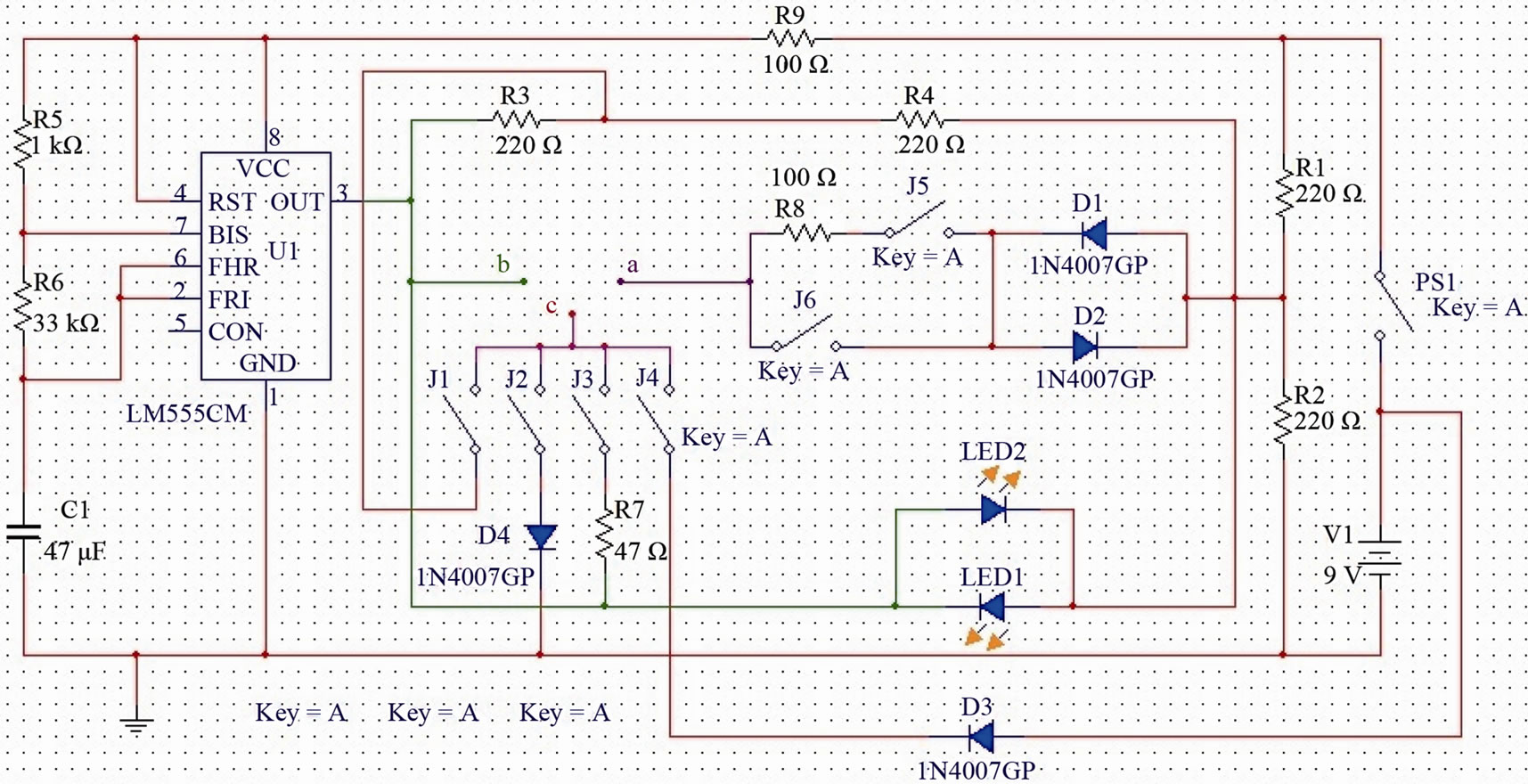 Design And Implementation Of An Analogue Tester Board Testingelectroniccomponents 2methodsfortestingmosfetshtml Figure 3 Simulation Model By Software Multisim 110