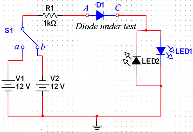 design and implementation of an analogue tester boardthe first part of circuits for checking the electronic components individually form