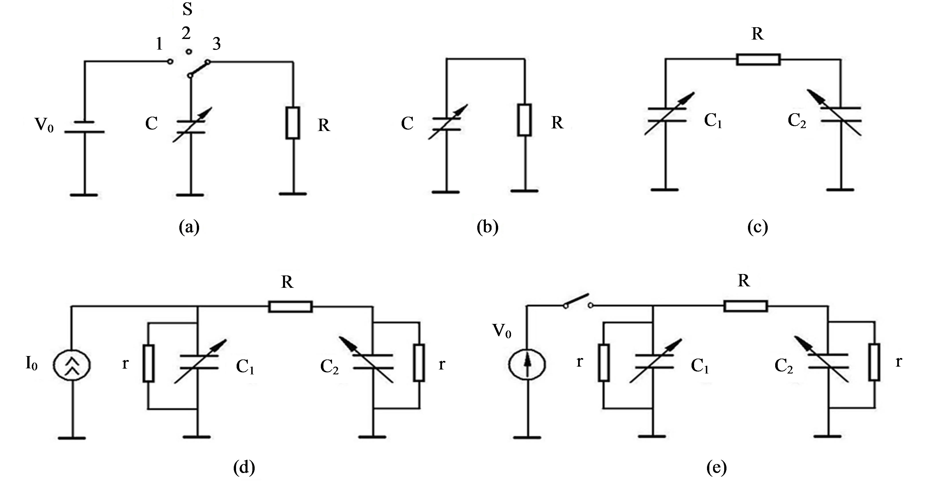Two Capacitor Electrostatic Microgenerators Circuits Charging A 500 F It Charges Up Various Of Capacitance Generators Machine Or Electret Voltage Generator At V0 0 B Current