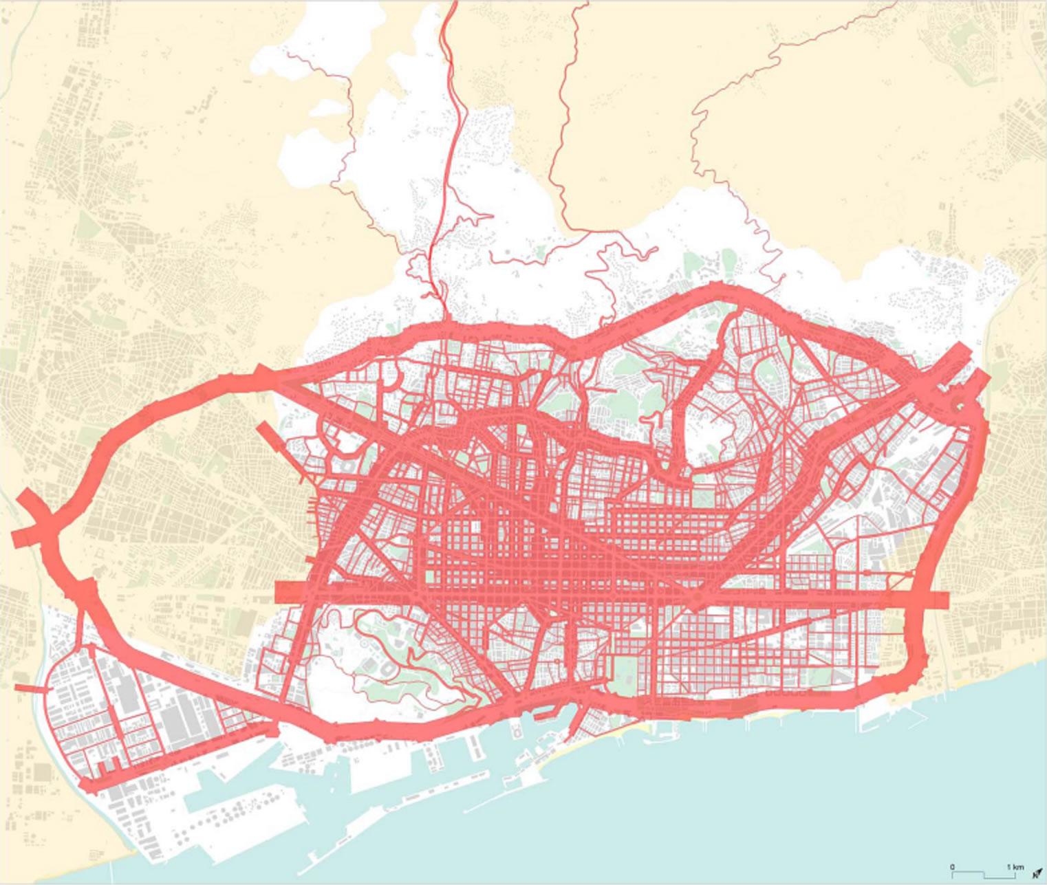An Interpretation of the Recent Evolution of the City of Barcelona