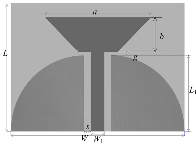 Design of a CPW-Fed Ultra Wide Band Antenna