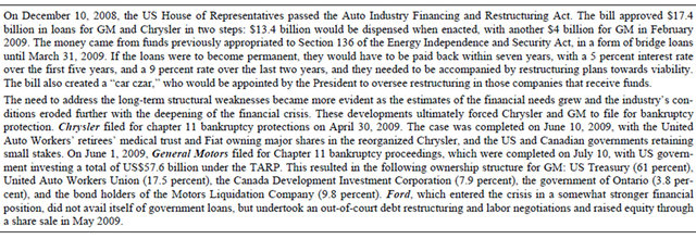 Government Involvement In Corporate Debt Restructuring Case Studies
