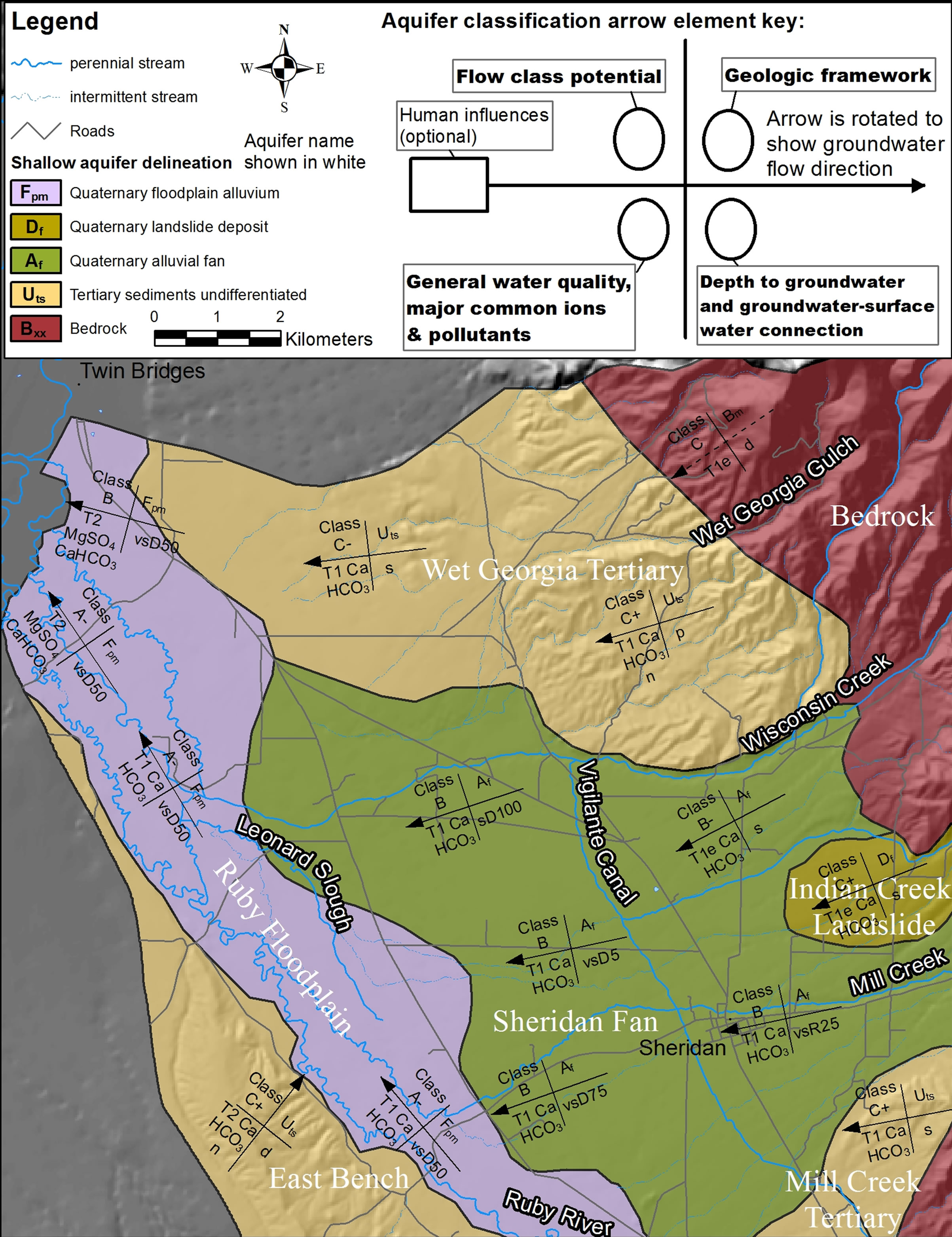lower ruby valley shallow aquifer clification map from plate b1 to view the full scale size maps and summary tables download maps at