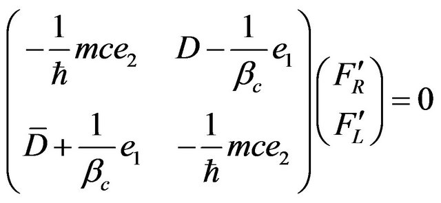 Chiral Dirac Equation Derived From Quaternionic Maxwell's Systems