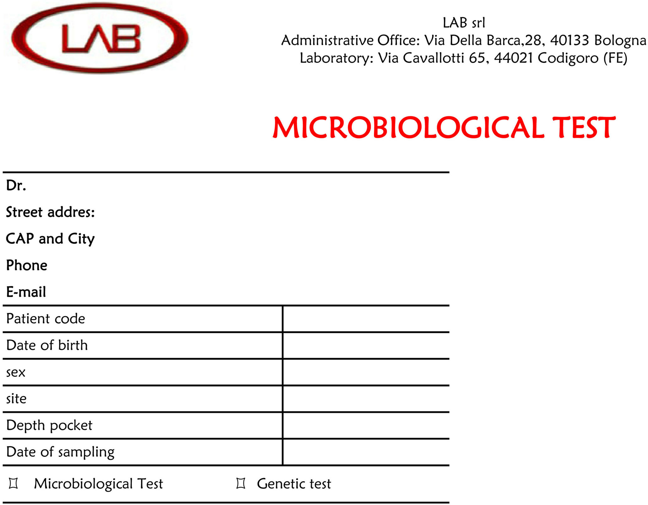Peri implantitis and periodontitis use of bacteriological for Stability protocol template