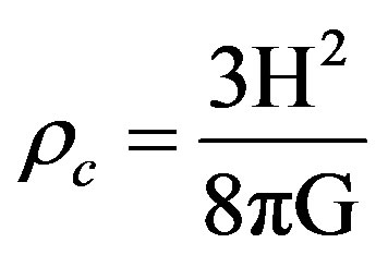 density equation. rm is the matter density, which includes baryonic as well dark (dm). critical density equation l
