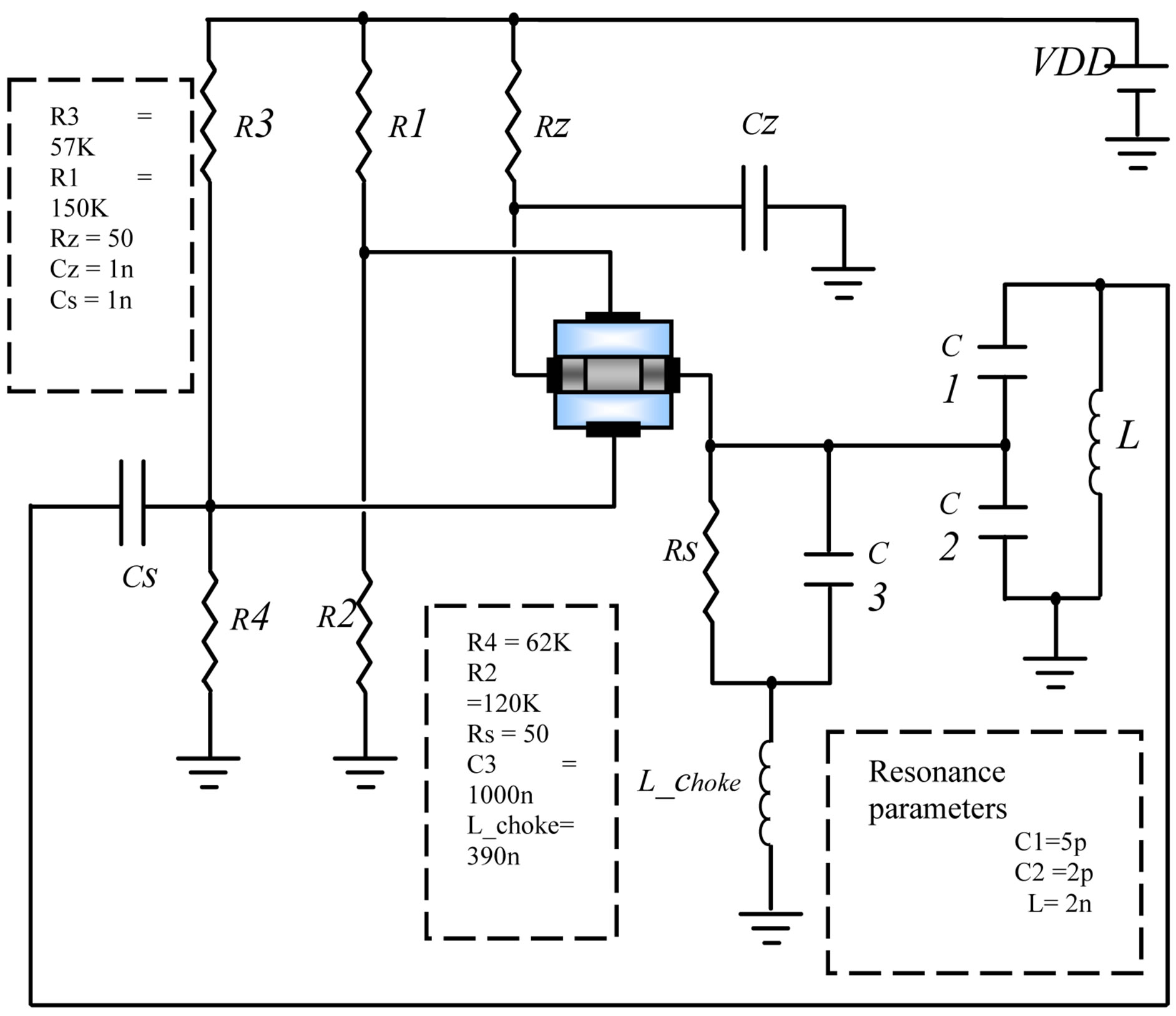 Mixed Mode Device Modeling Of Dgmos Rf Oscillators Phase Shift Oscillator Circuit Using Transistor Image A