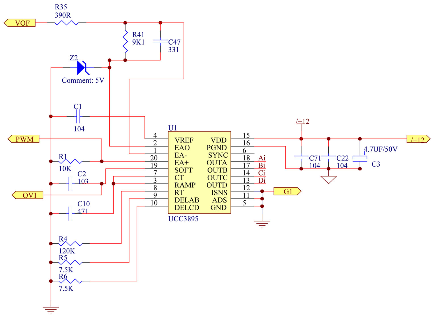 The Implementation Of A High Efficiency Full Bridge Converter Smps Schmatic Using Ic2003 Cheap Chinese Uses Circuit Completed Implemented