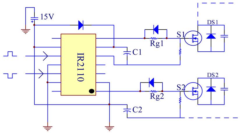 ir2110 driver circuit for mosfet power - FREE ONLINE