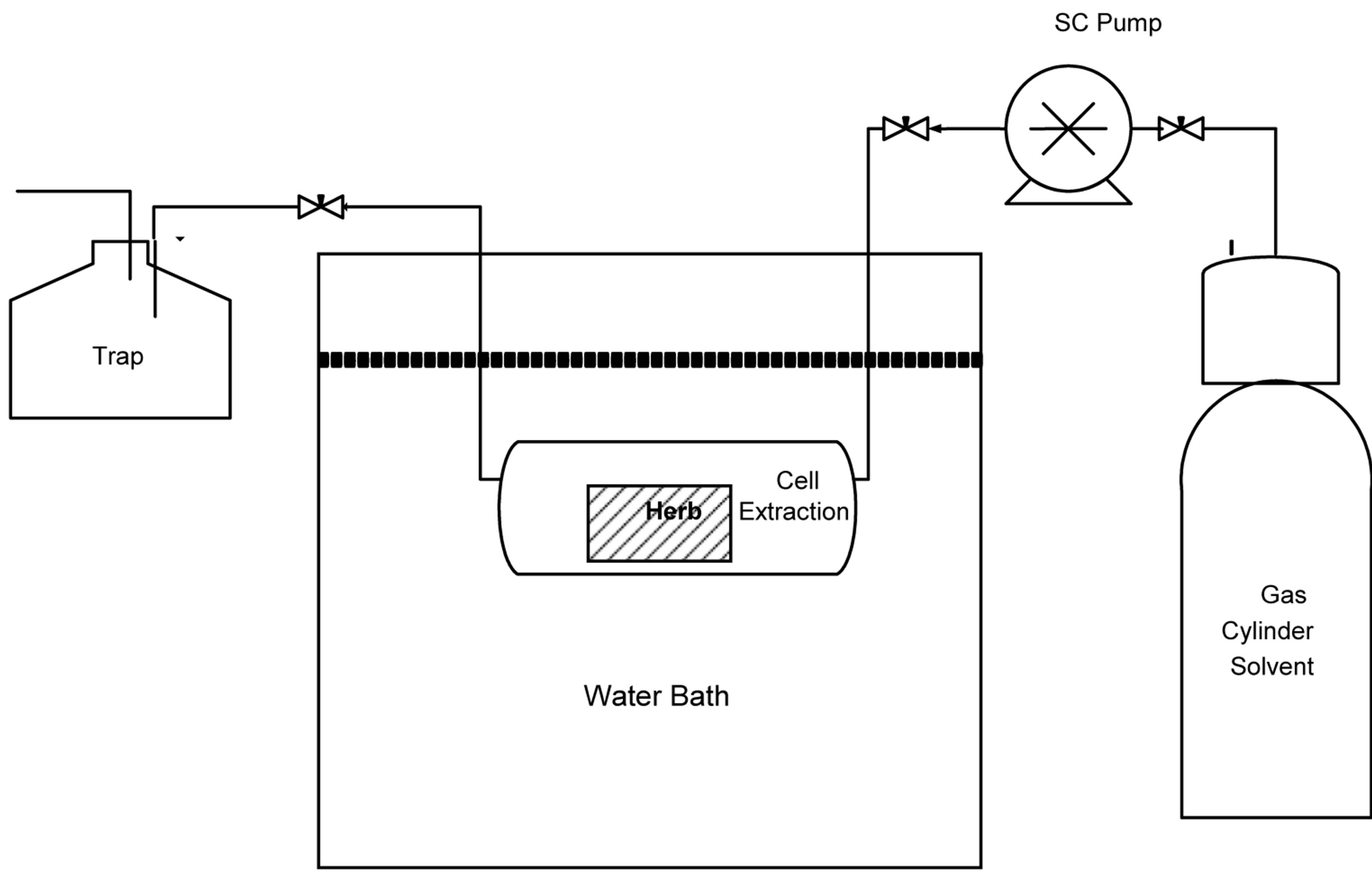supercritical fluid extraction of useful compounds from sage