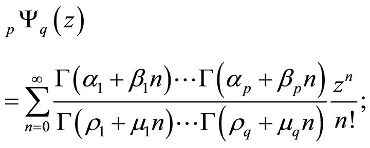 hypergeometric function relationship