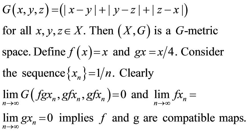 Common Fixed Point Theorems For Compatible And Weakly Compatible