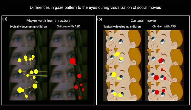 Eye tracking reveals early communication problem in ...