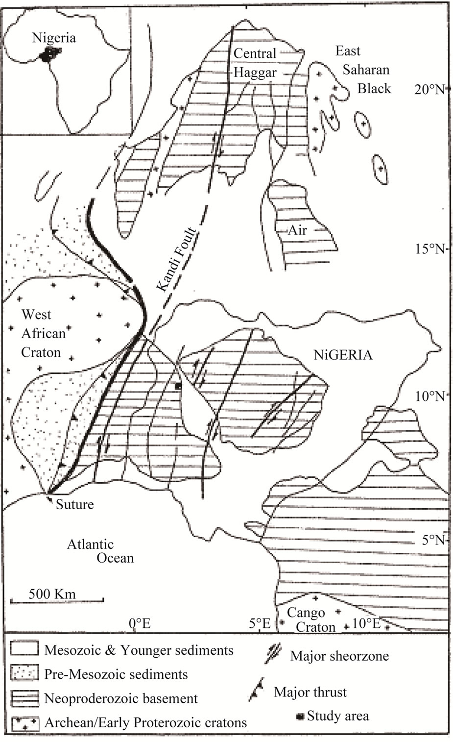 U-Pb Geochronology of the Jebba Granitic Gneiss and Its Implications