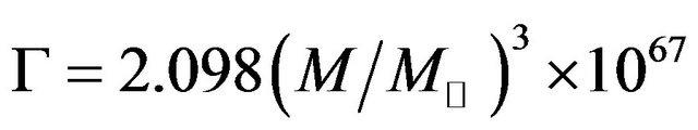 hawking black hole formula - photo #13
