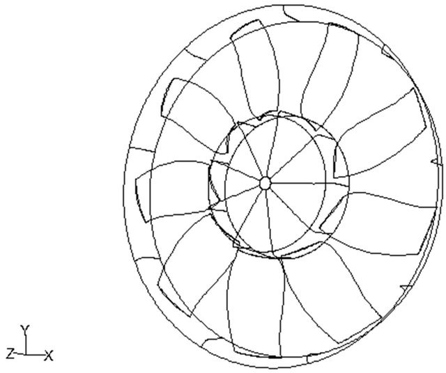 3 D Modeling Of Axial Fans