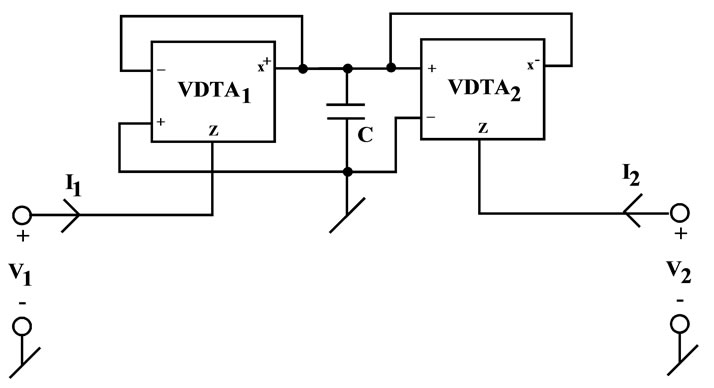 grounded and floating inductance simulation circuits using vdtas