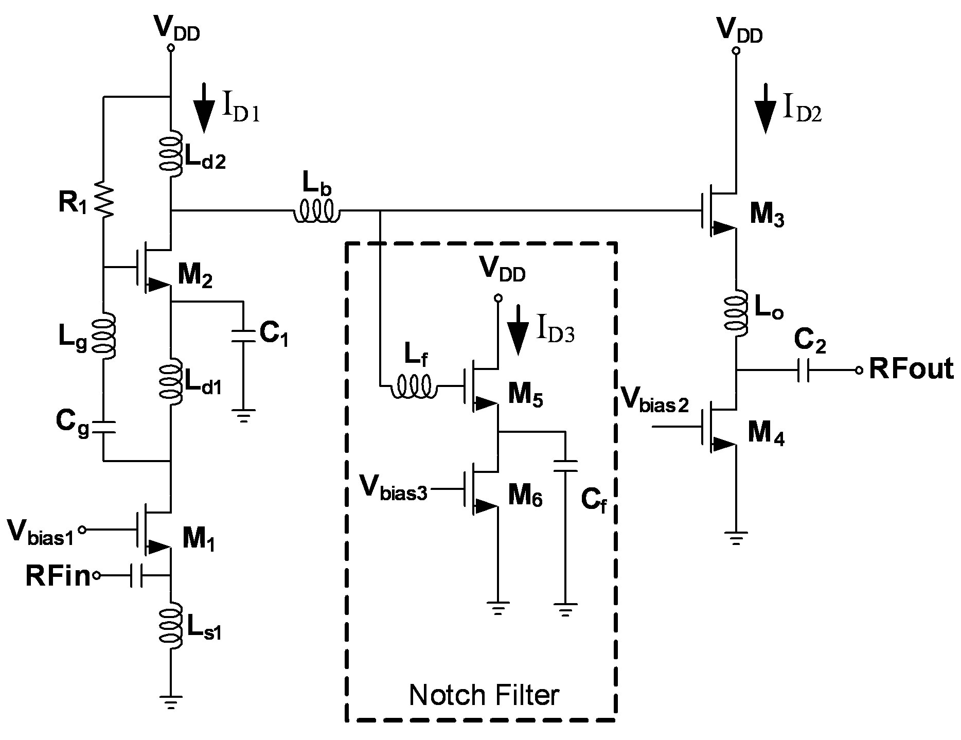 design of low power cmos lna with current