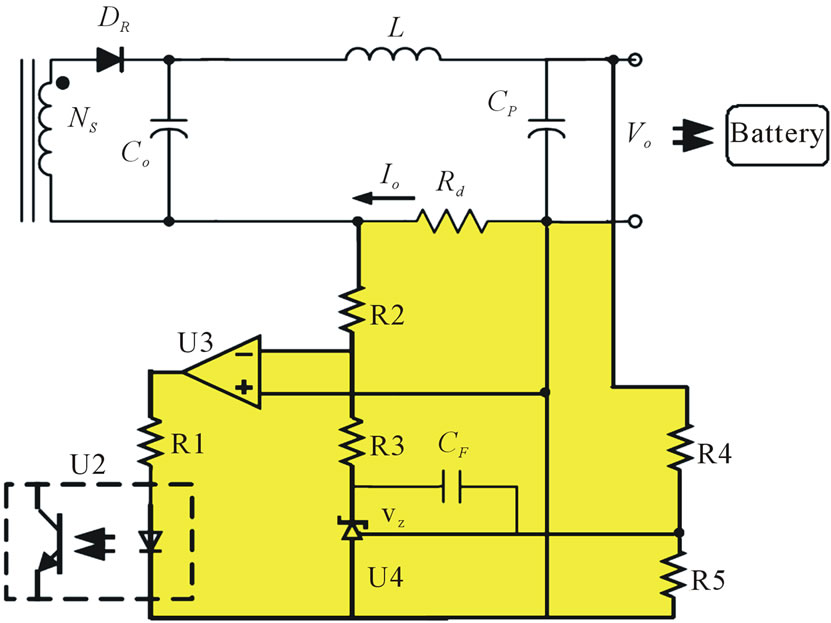 power efficient battery charger by using constant current  constant voltage controller