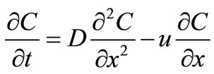 Analytical Solution to the One-Dimensional Advection