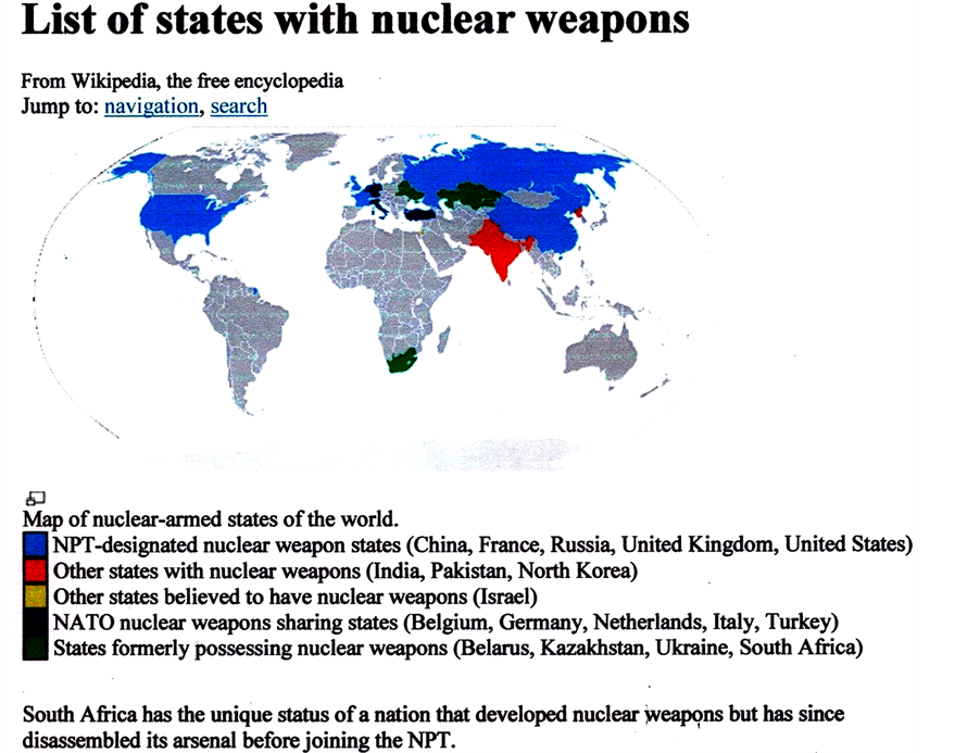 the influence of nuclear weapons in the world politics The brezhnev doctrine's influence on throughout the cold war today, nuclear weapons proliferation and nuclear politics during world war.