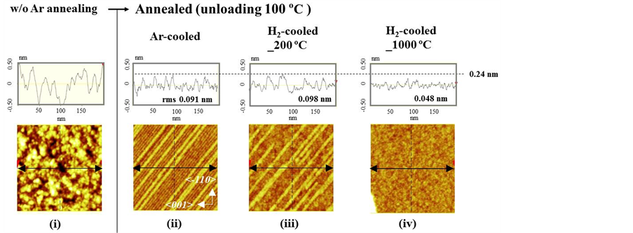 Dependence of Atomic-Scale Si(110) Surface Roughness on