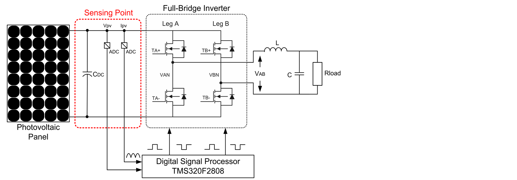 A High Efficiency Single Stage Low Power Photovoltaic Inverter Making 25w Circuit Diagram B