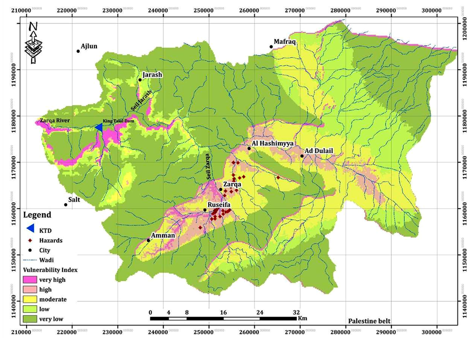 Groundwater Vulnerability and Hazard Mapping in an Arid Region Case
