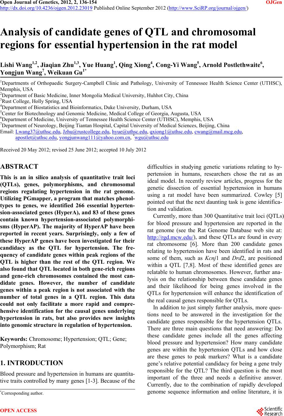 study on essential hypertension