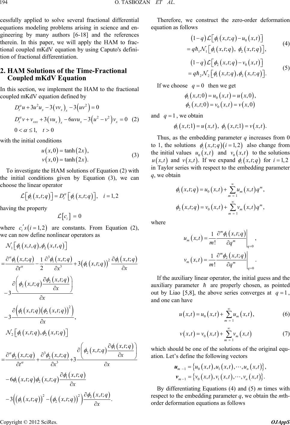 caputo fractional differential equations - HD 965×1414