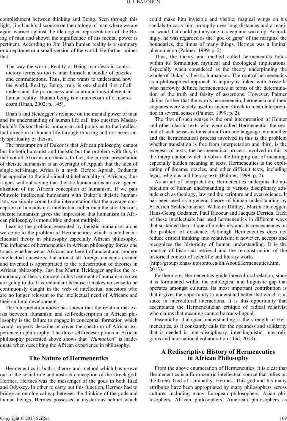 an analysis of how the philosophy hermeneutics was written by gadamer