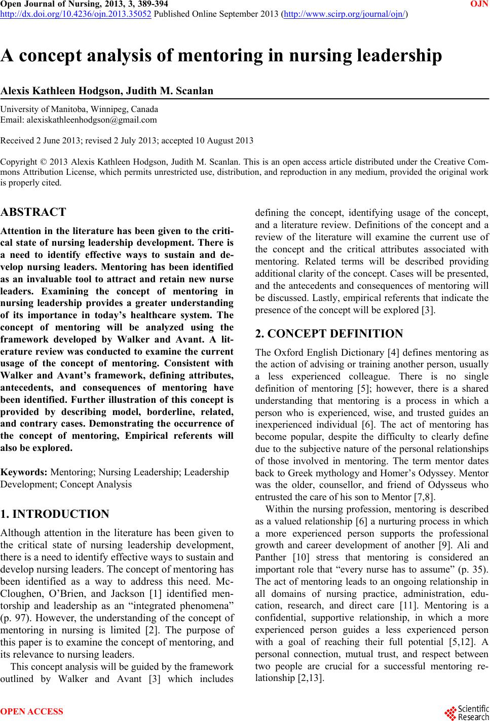 simulation review paper hcs 405