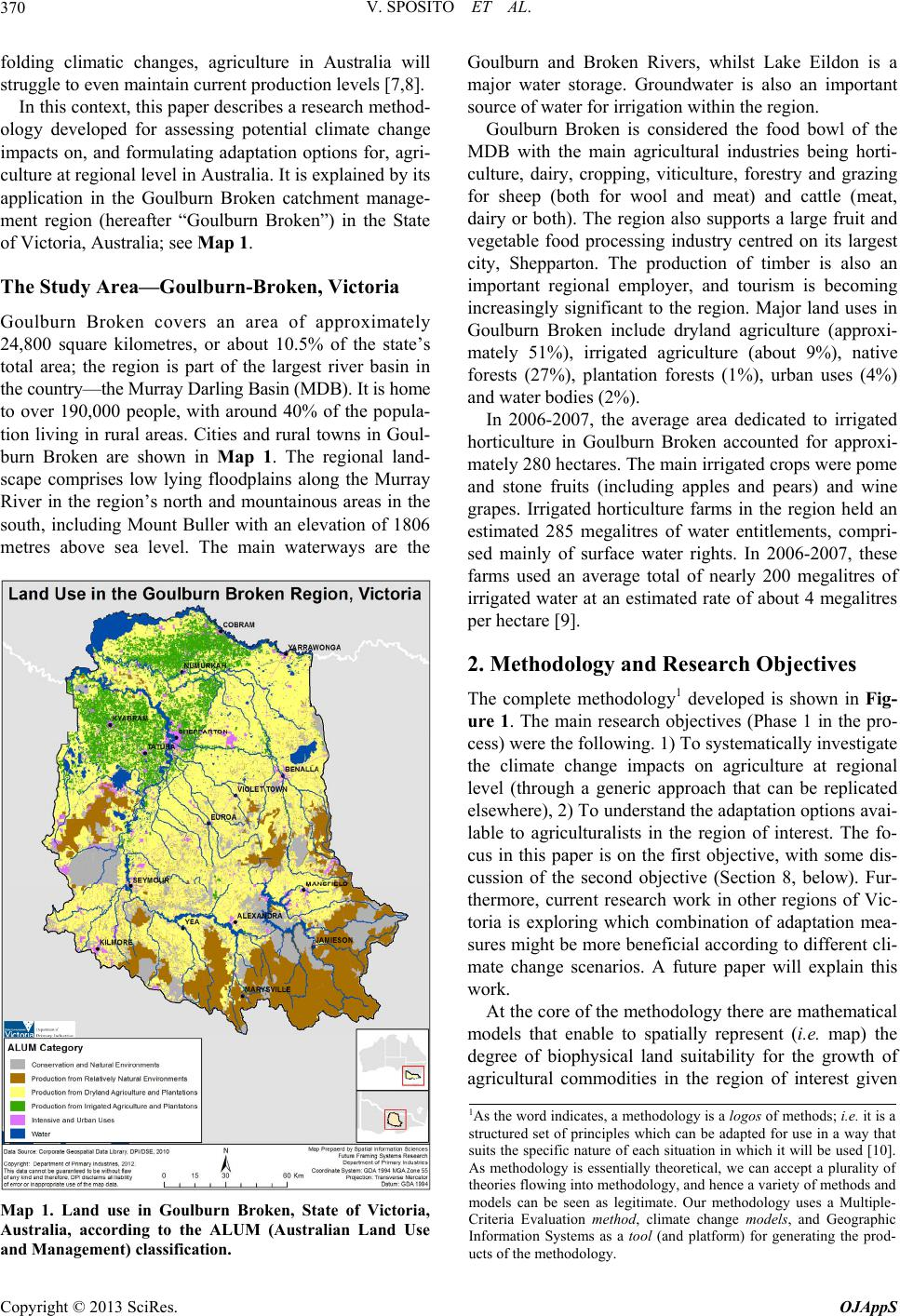 gis and australian agriculture essay