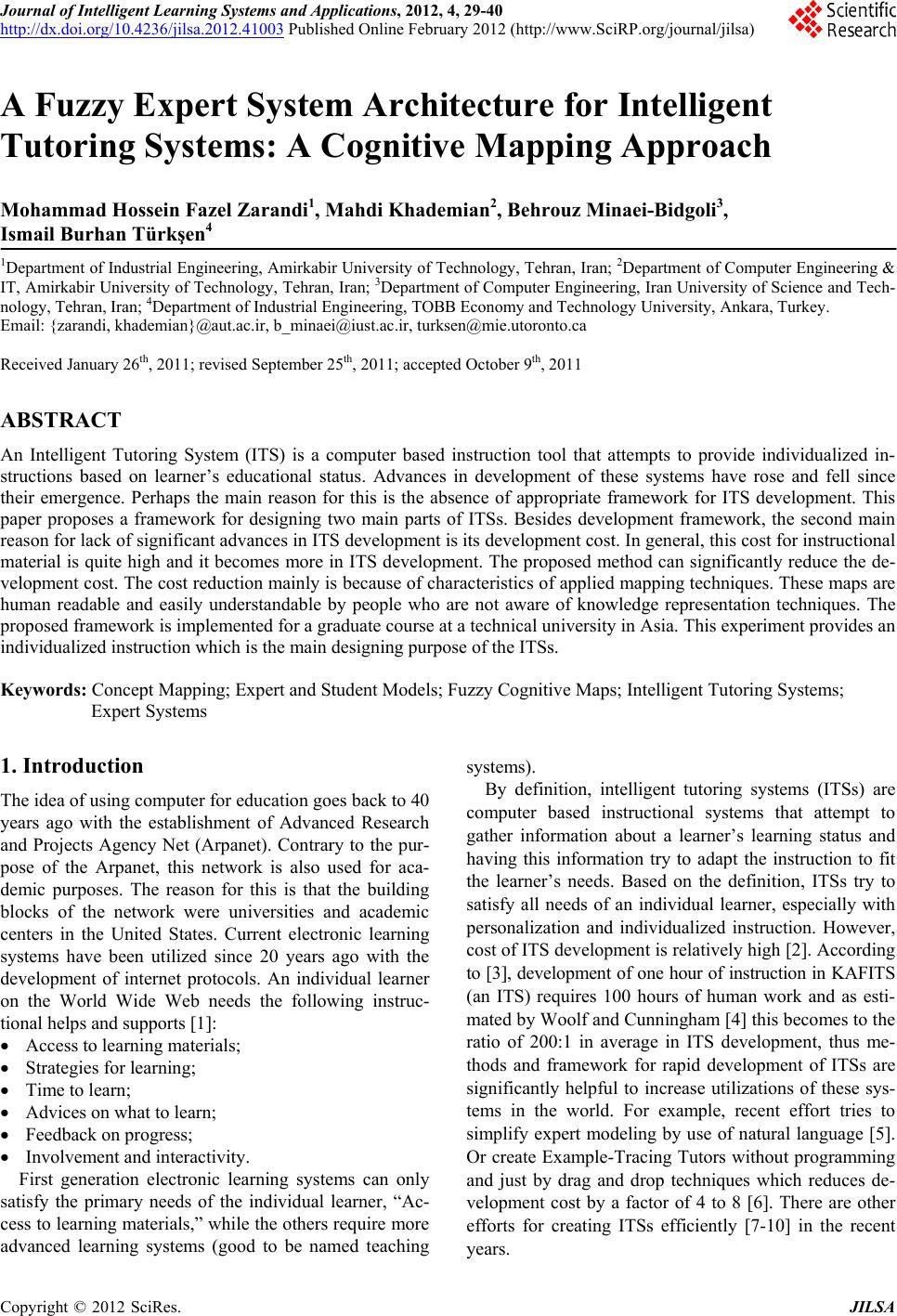journal of intelligent & fuzzy systems pdf