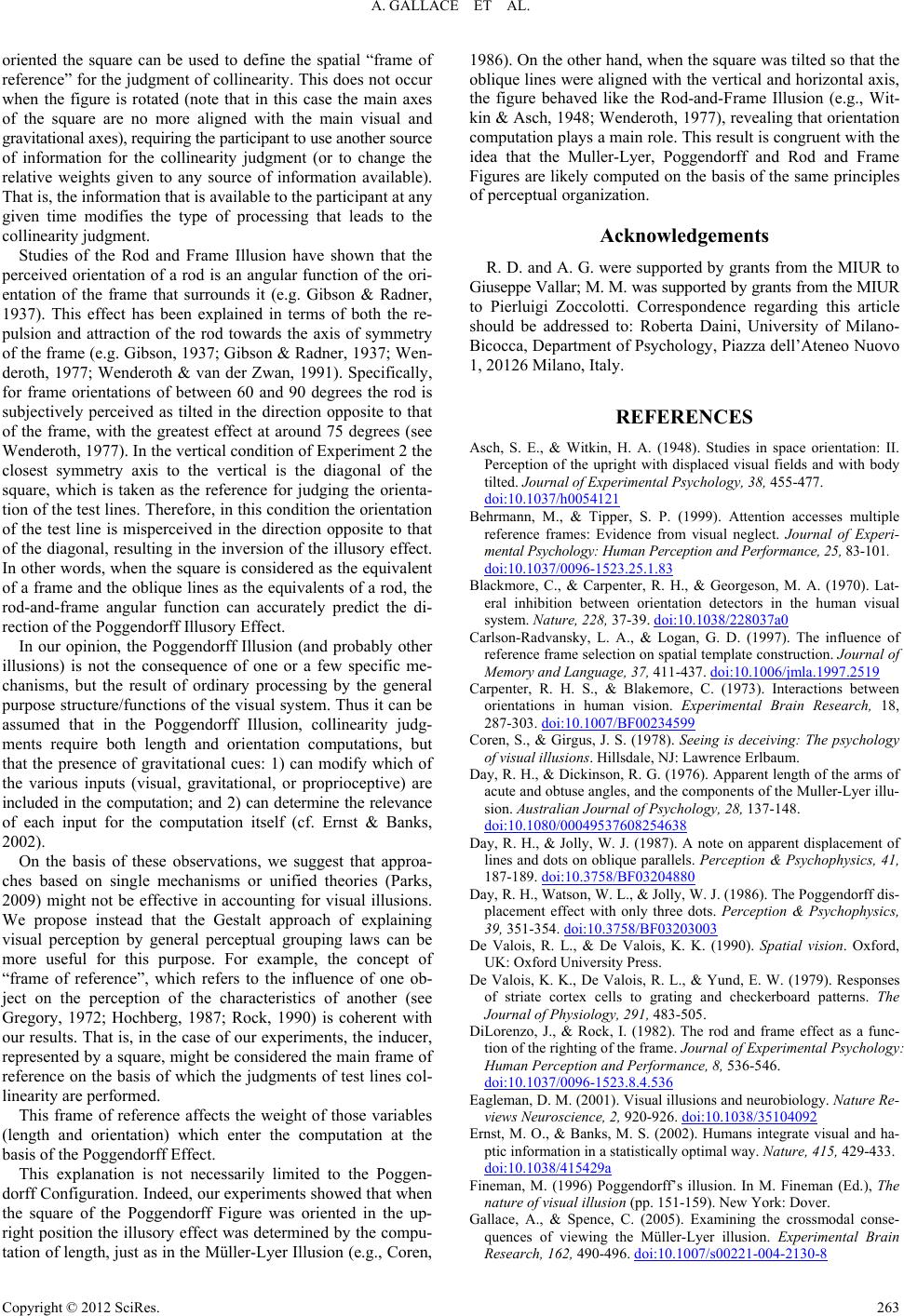 experiment on perceptual inconsistency For the thompson effect and other perceptual biases in speed such as those induced by perceptual biases are inconsistent with bayesian encoding of speed in the human visual system journal of vision, 15(2):9, 1–9 between 20 and 29 participated in this experiment one of the subjects (oh) was an.